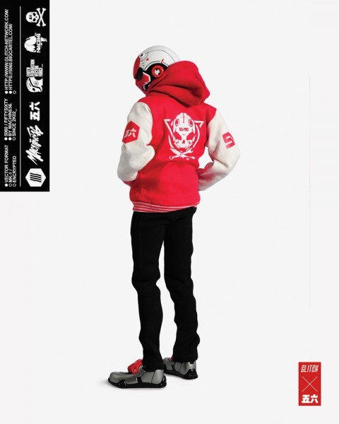 stylized - NEW PRODUCT: GLITCH BONEHEAD: TEST SUBJECT 56 1/6 SCALE ACTION FIGURE Ts03-410