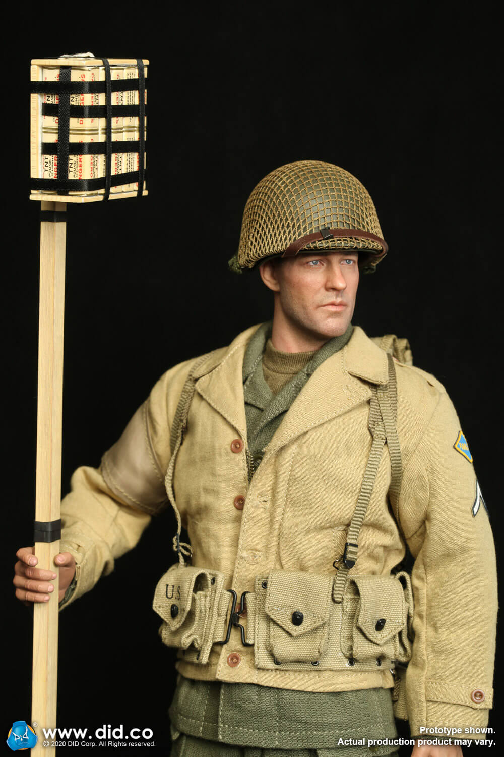 did - NEW PRODUCT: DiD: A80141 WWII US 2nd Ranger Battalion Private First Class Reiben 1/6 scale figure Us-2nd13