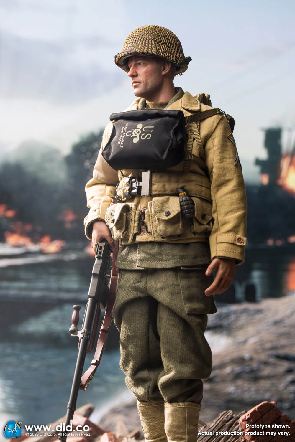 did - NEW PRODUCT: DiD: A80141 WWII US 2nd Ranger Battalion Private First Class Reiben 1/6 scale figure Us-2nd17