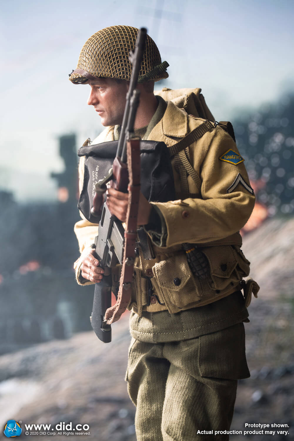 did - NEW PRODUCT: DiD: A80141 WWII US 2nd Ranger Battalion Private First Class Reiben 1/6 scale figure Us-2nd22