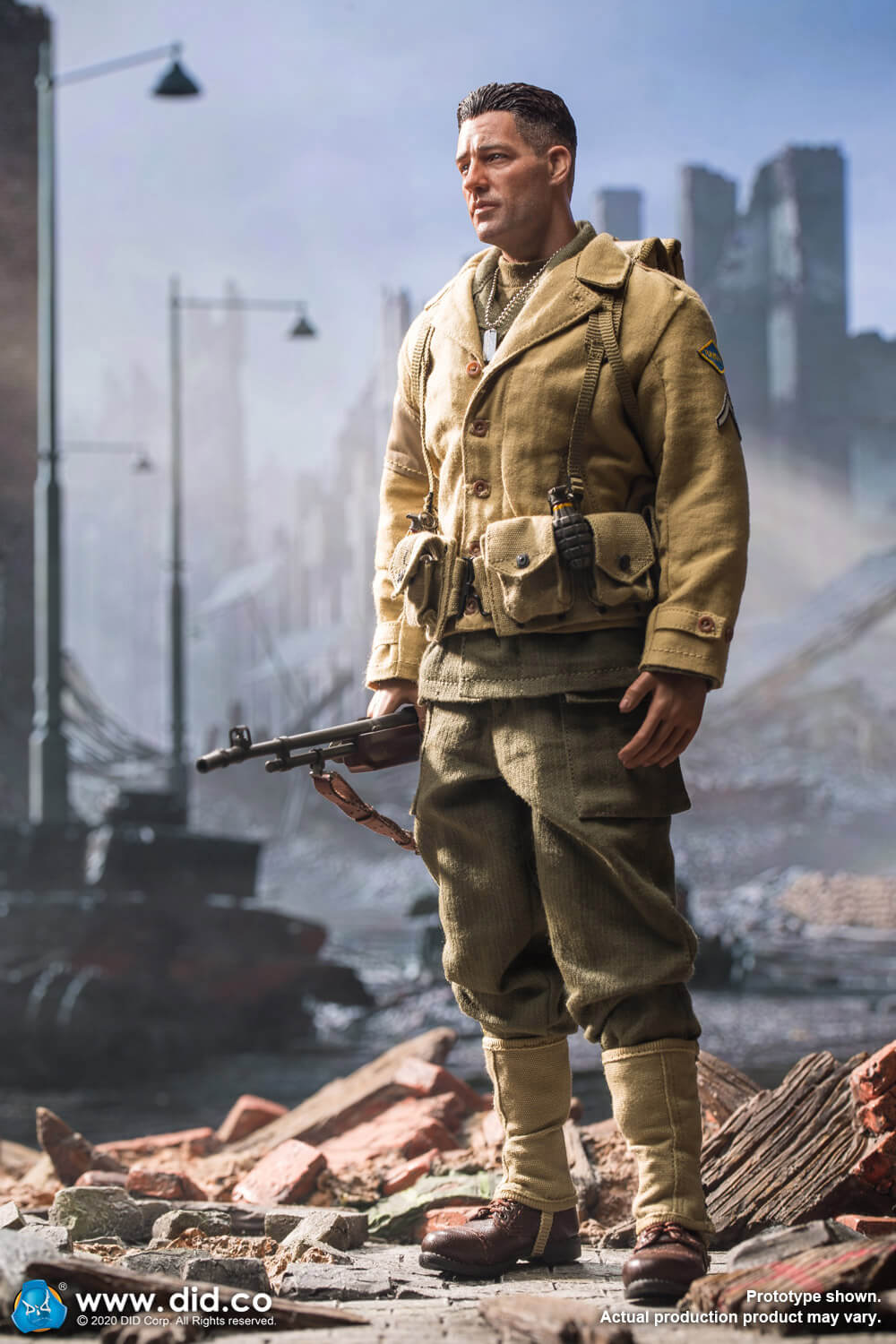 male - NEW PRODUCT: DiD: A80141 WWII US 2nd Ranger Battalion Private First Class Reiben 1/6 scale figure Us-2nd25