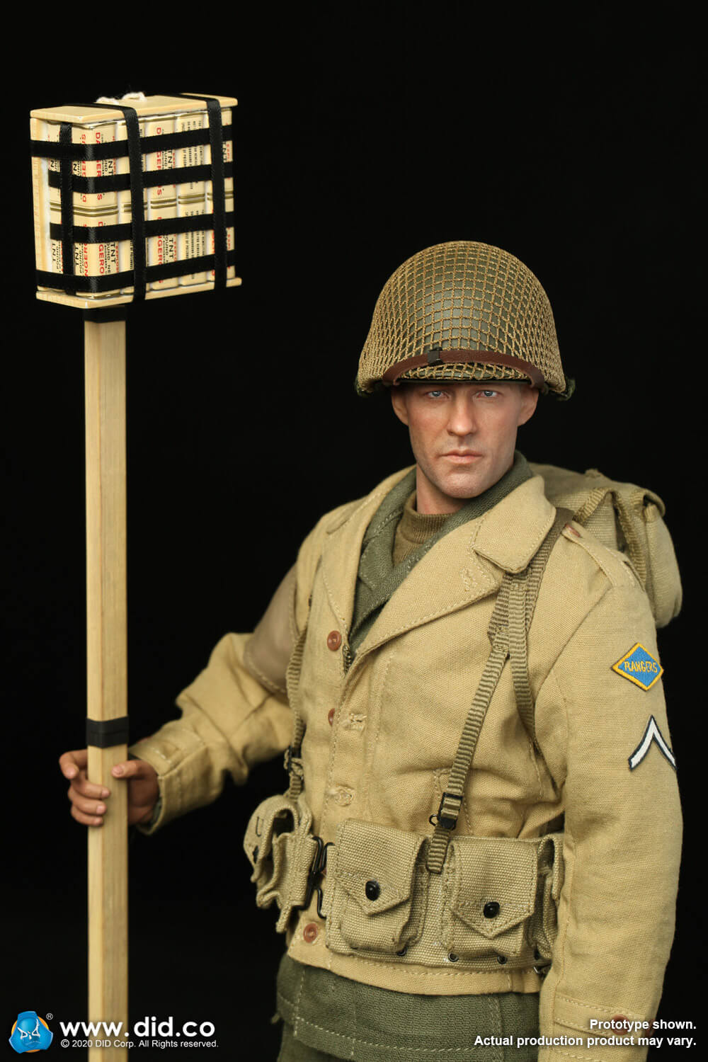 male - NEW PRODUCT: DiD: A80141 WWII US 2nd Ranger Battalion Private First Class Reiben 1/6 scale figure Us-2nd26