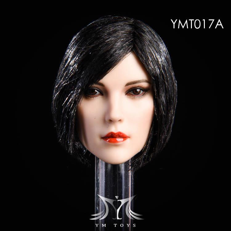 NEW PRODUCT:YMToys: [YMT-17A, B, C] 1/6 Female Head (3 Styles) & YMT-18A, B, C (3 styles) Ymt-0127
