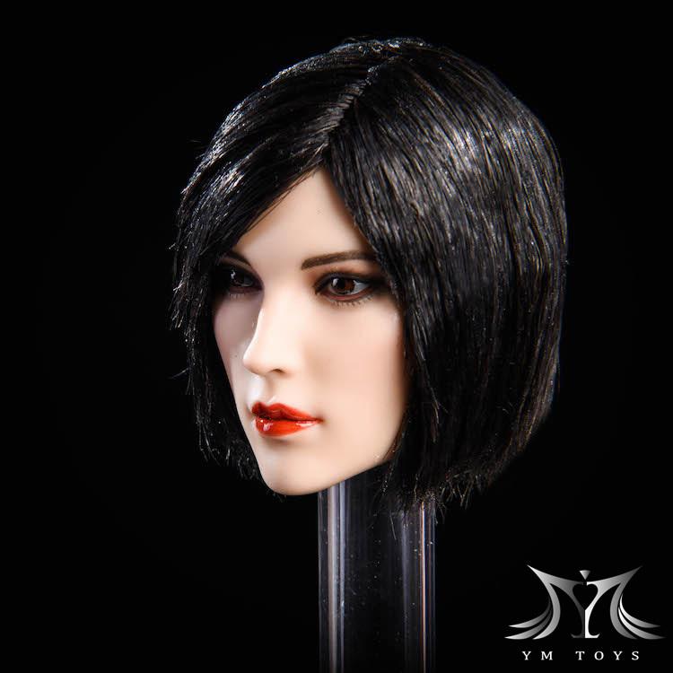 NEW PRODUCT:YMToys: [YMT-17A, B, C] 1/6 Female Head (3 Styles) & YMT-18A, B, C (3 styles) Ymt-0132