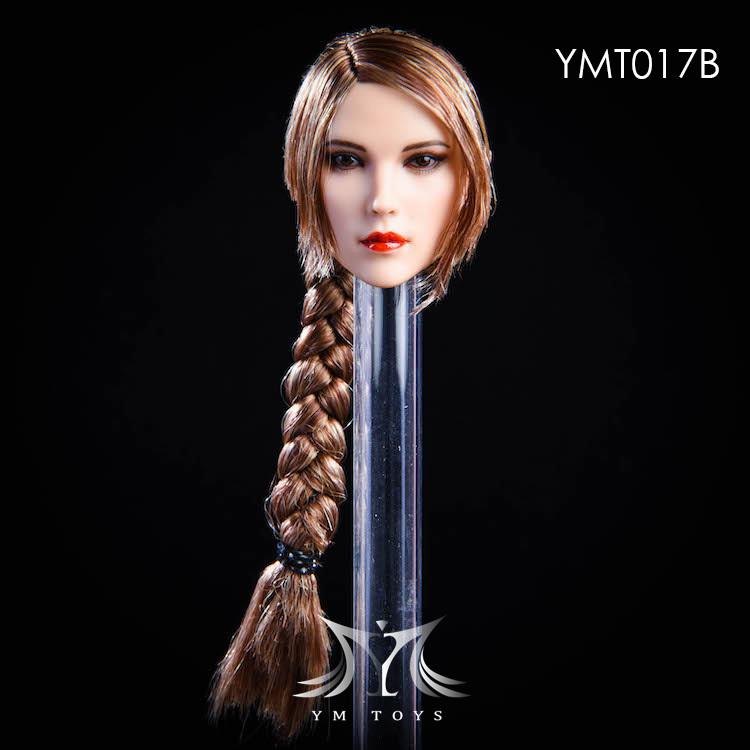 NEW PRODUCT:YMToys: [YMT-17A, B, C] 1/6 Female Head (3 Styles) & YMT-18A, B, C (3 styles) Ymt-0134