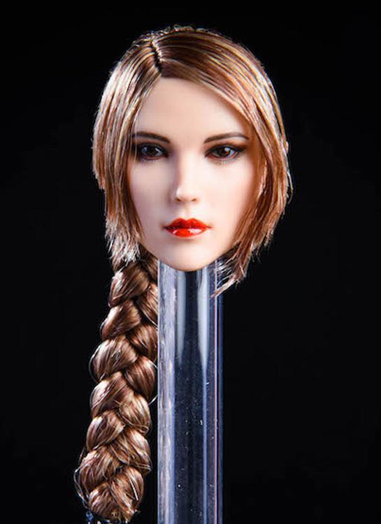 NEW PRODUCT:YMToys: [YMT-17A, B, C] 1/6 Female Head (3 Styles) & YMT-18A, B, C (3 styles) Ymt-0135