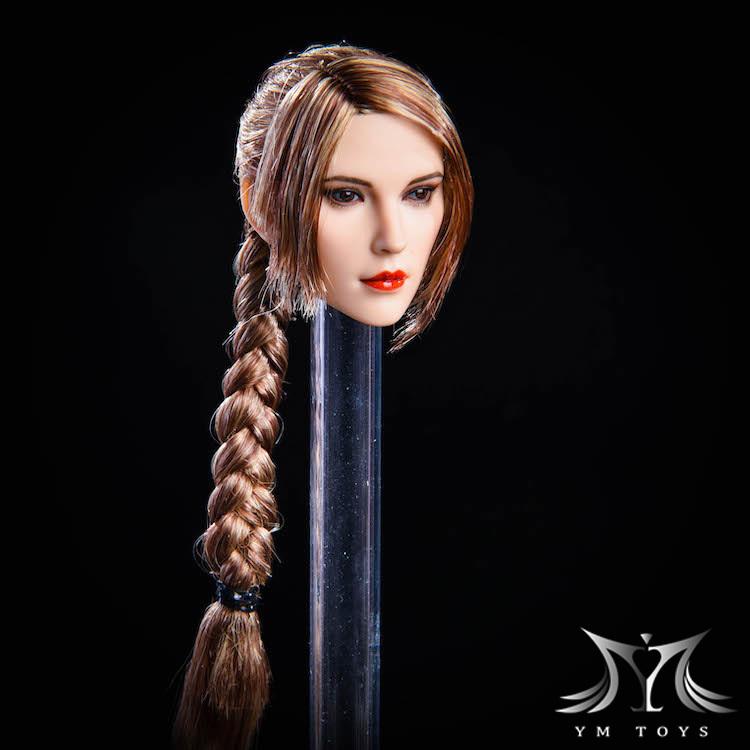 NEW PRODUCT:YMToys: [YMT-17A, B, C] 1/6 Female Head (3 Styles) & YMT-18A, B, C (3 styles) Ymt-0137