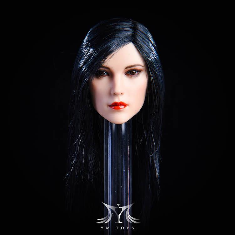 NEW PRODUCT:YMToys: [YMT-17A, B, C] 1/6 Female Head (3 Styles) & YMT-18A, B, C (3 styles) Ymt-0140