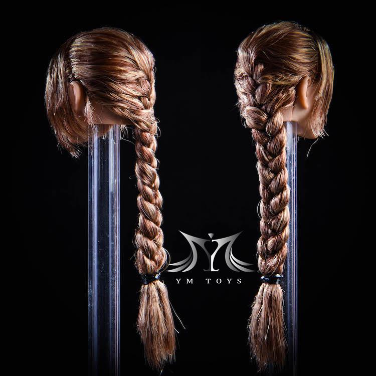 NEW PRODUCT:YMToys: [YMT-17A, B, C] 1/6 Female Head (3 Styles) & YMT-18A, B, C (3 styles) Ymt-0141