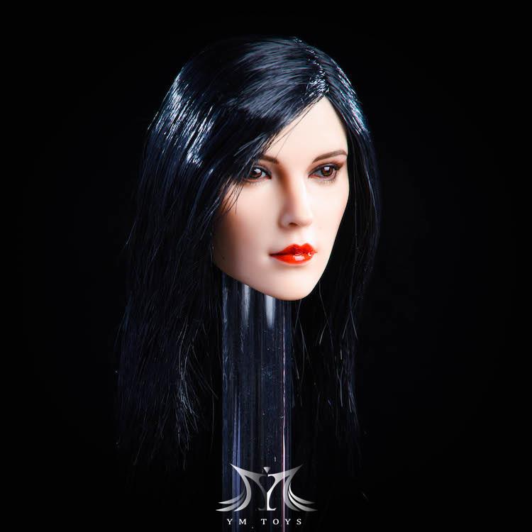 NEW PRODUCT:YMToys: [YMT-17A, B, C] 1/6 Female Head (3 Styles) & YMT-18A, B, C (3 styles) Ymt-0142