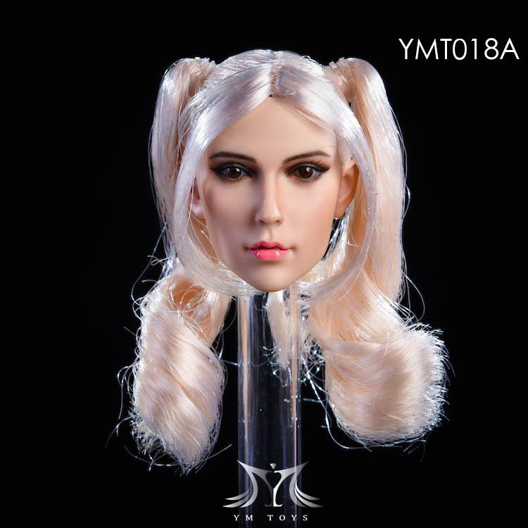 NEW PRODUCT:YMToys: [YMT-17A, B, C] 1/6 Female Head (3 Styles) & YMT-18A, B, C (3 styles) Ymt-0147