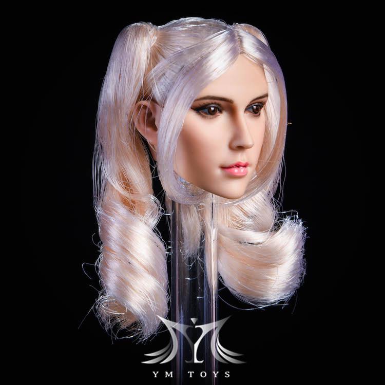 NEW PRODUCT:YMToys: [YMT-17A, B, C] 1/6 Female Head (3 Styles) & YMT-18A, B, C (3 styles) Ymt-0149