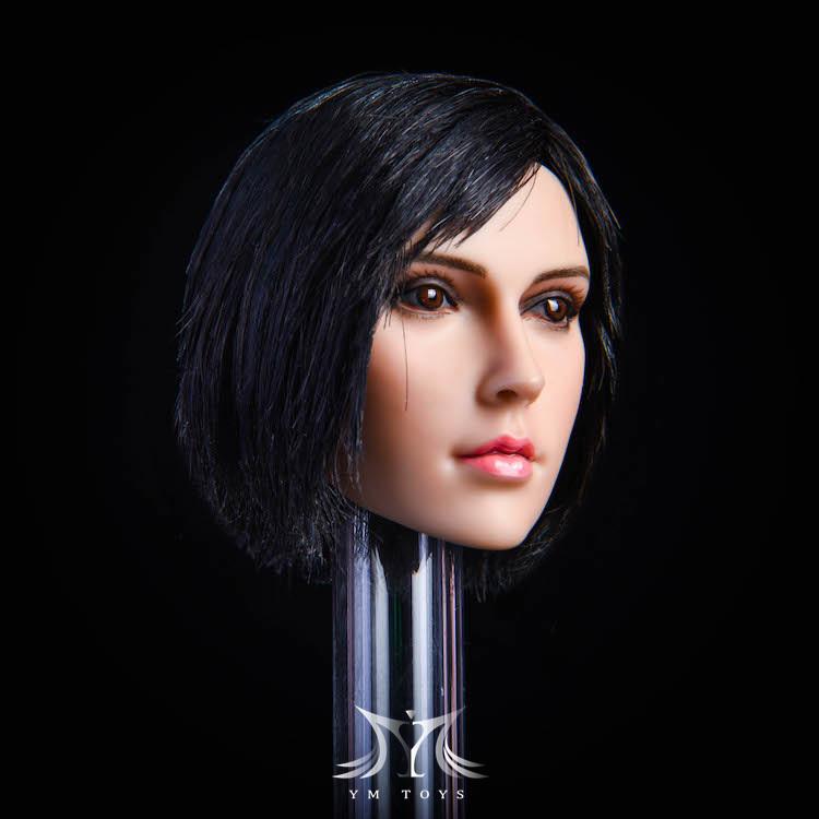 NEW PRODUCT:YMToys: [YMT-17A, B, C] 1/6 Female Head (3 Styles) & YMT-18A, B, C (3 styles) Ymt-0152