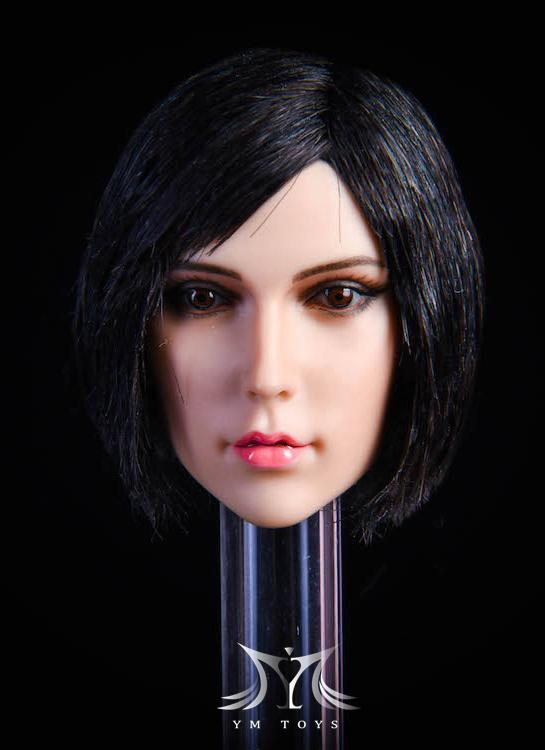 NEW PRODUCT:YMToys: [YMT-17A, B, C] 1/6 Female Head (3 Styles) & YMT-18A, B, C (3 styles) Ymt-0157