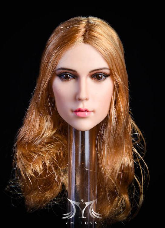 NEW PRODUCT:YMToys: [YMT-17A, B, C] 1/6 Female Head (3 Styles) & YMT-18A, B, C (3 styles) Ymt-0160