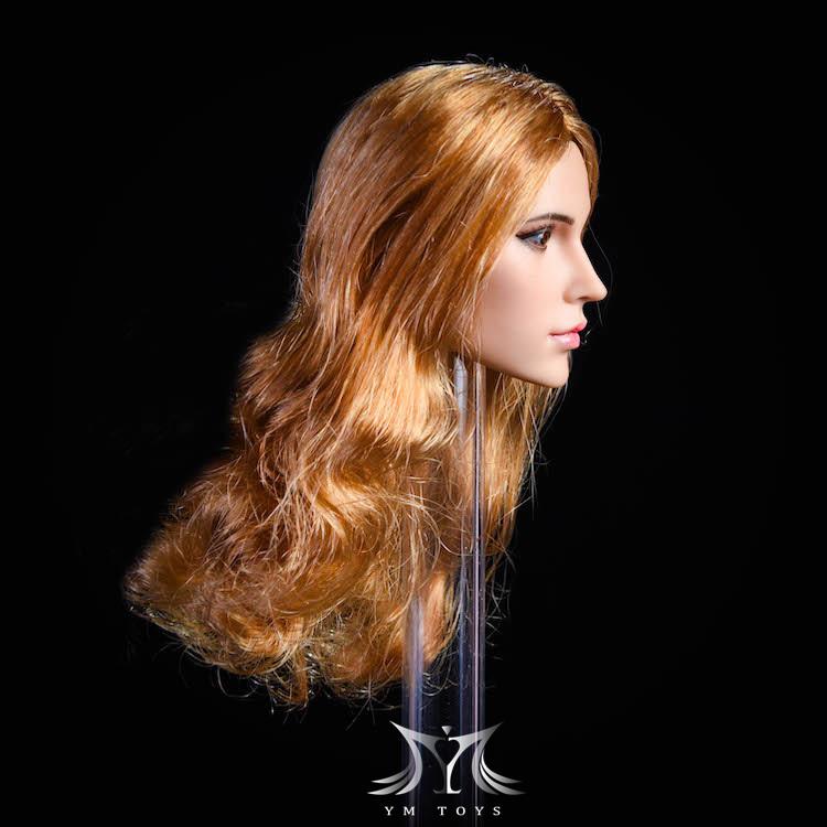 NEW PRODUCT:YMToys: [YMT-17A, B, C] 1/6 Female Head (3 Styles) & YMT-18A, B, C (3 styles) Ymt-0161