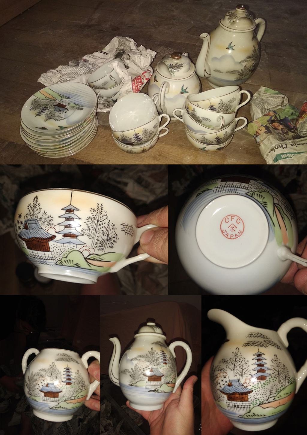 Porcelaine CFC JAPAN Cfc_ja10