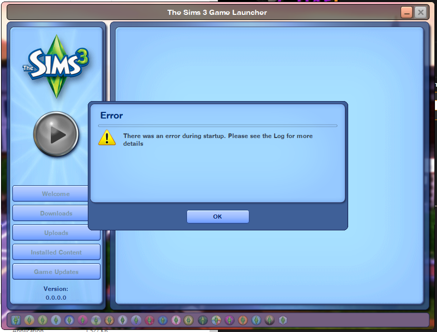 """Error During Startup"" - Complete Collection + Ultimate Fix Sims3110"