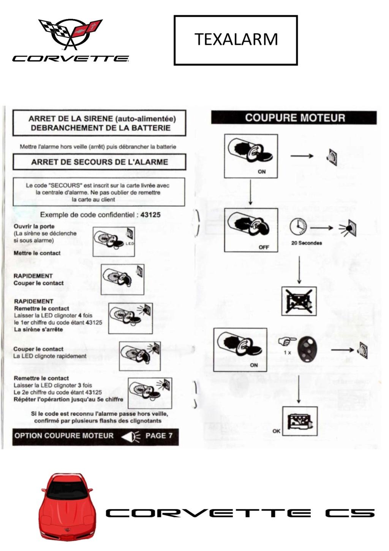 Programmation des télécommandes Texala10