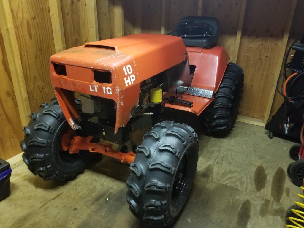 General Lee - 1988 Lifted Jacobsen Homelite LT10 Mud Mower [2019 Build-Off Participant] 20200111
