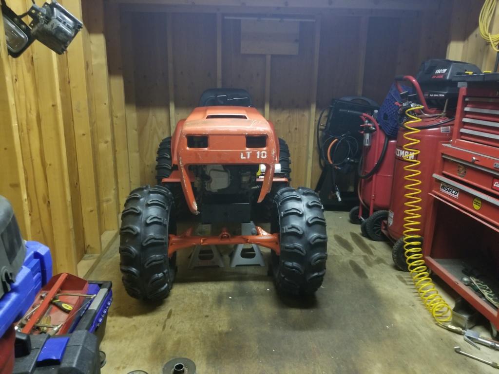 General Lee - 1988 Lifted Jacobsen Homelite LT10 Mud Mower [2019 Build-Off Participant] 20200112