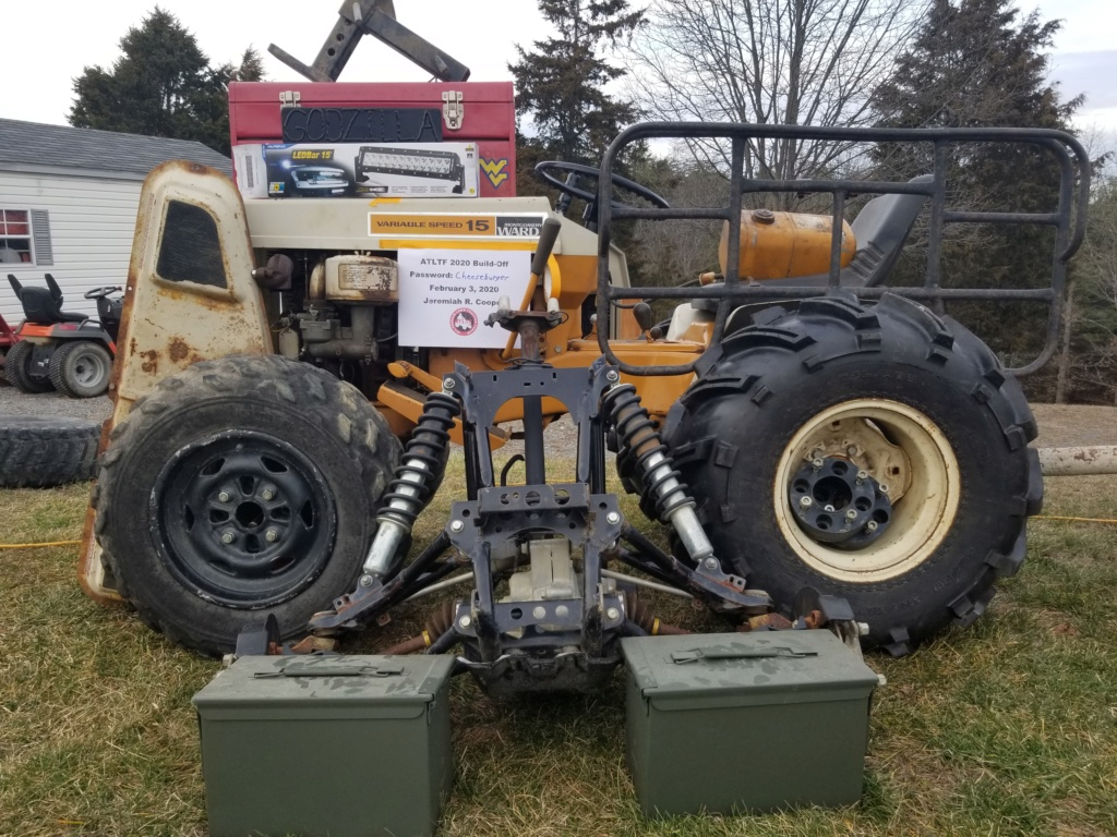 [2020 Build-Off Entry] Hillbilly  Offroading's Monster Godzilla Weekend Mudder  20200219
