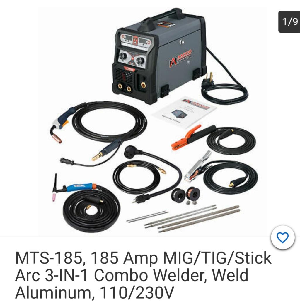 Let's Talk Welders! Stick Mig & Tig 20200310