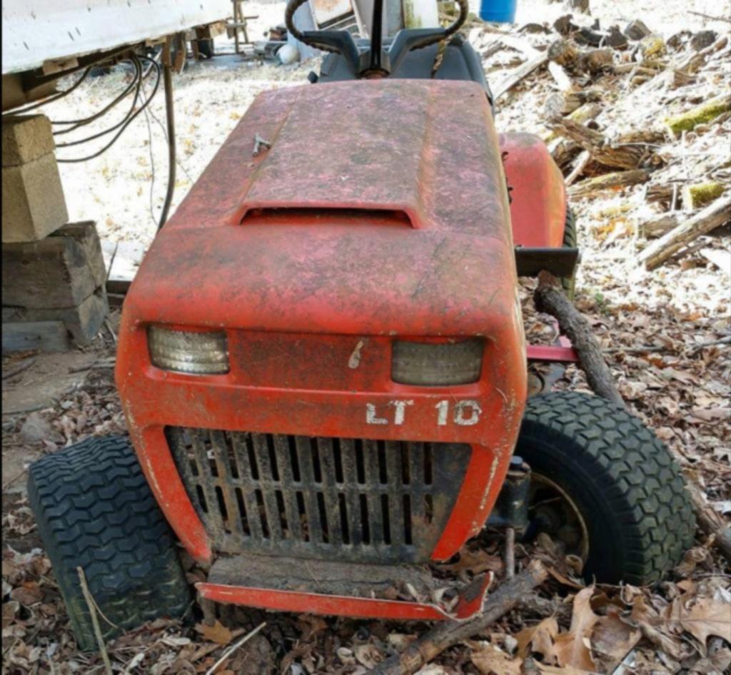 General Lee - 1988 Lifted Jacobsen Homelite LT10 Mud Mower [2019 Build-Off Participant] Screen33