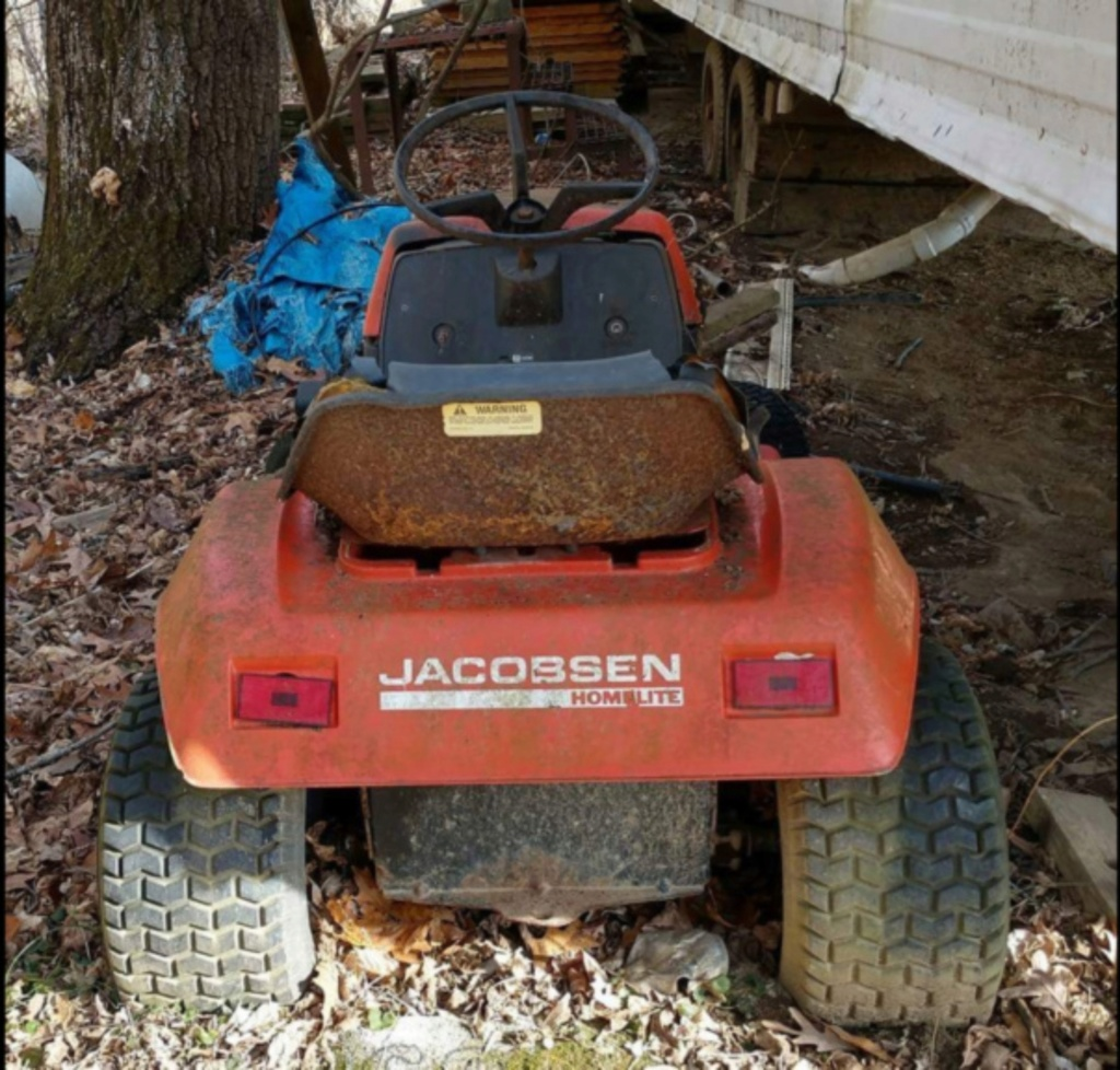 General Lee - 1988 Lifted Jacobsen Homelite LT10 Mud Mower [2019 Build-Off Participant] Screen34