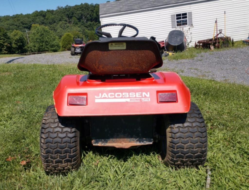 General Lee - 1988 Lifted Jacobsen Homelite LT10 Mud Mower [2019 Build-Off Participant] Screen37