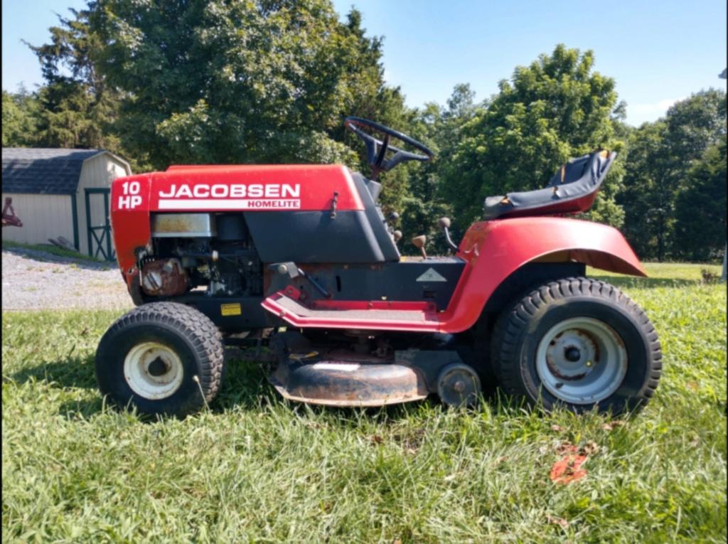 General Lee - 1988 Lifted Jacobsen Homelite LT10 Mud Mower [2019 Build-Off Participant] Screen38