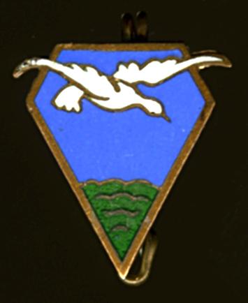 Petit insigne, oiseau survolant une forêt ? Insign11