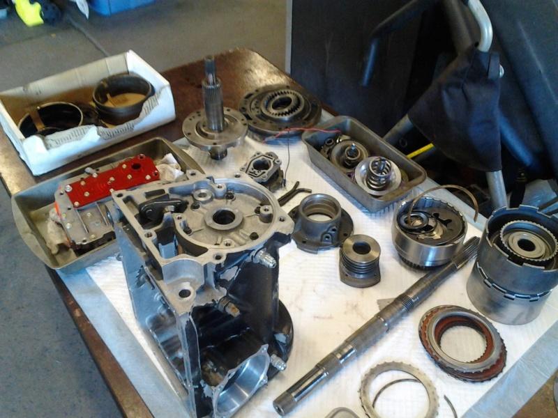 "C4  Transbrake transmission & Art Carr 9"" Torque converter 410"