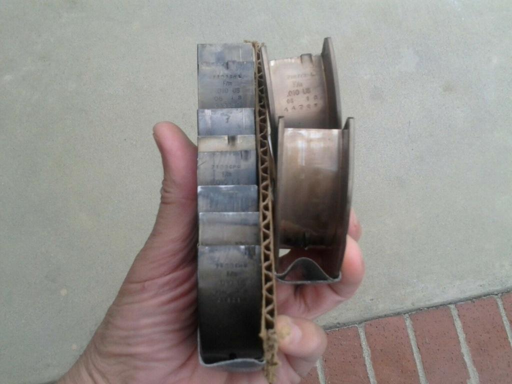 Federal Mogul Sealed Power 134M10 Main Bearing Set  S-l16010
