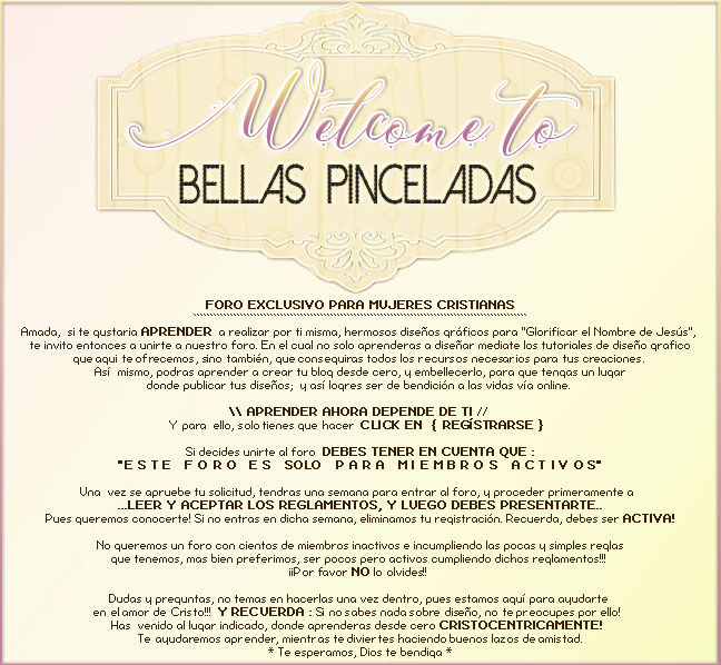 Bellas Pinceladas - Portal Welcom10
