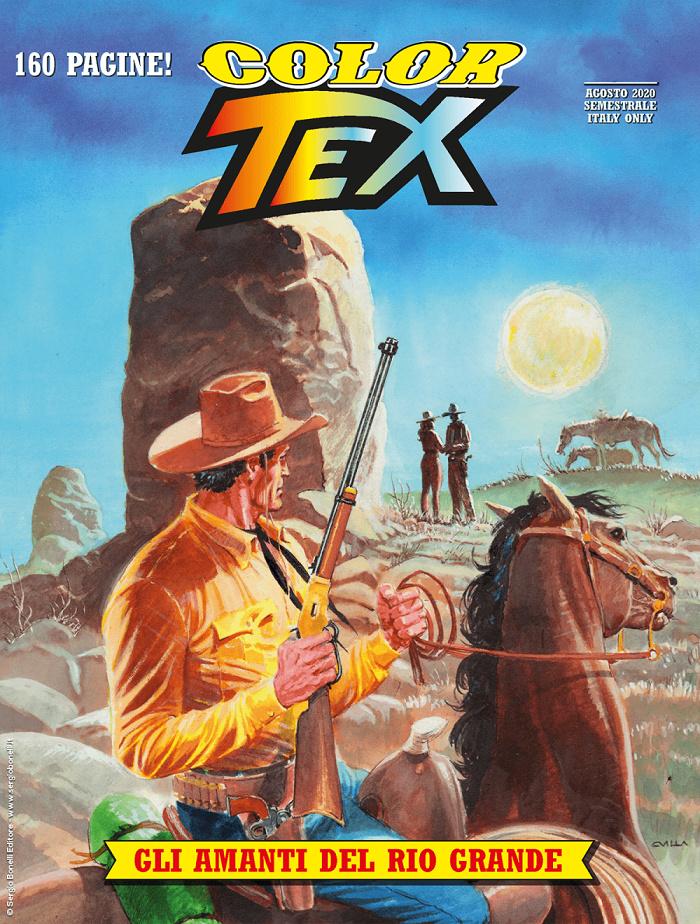 GLI AMANTI DEL RIO GRANDE Tex Color n. 17 15931712