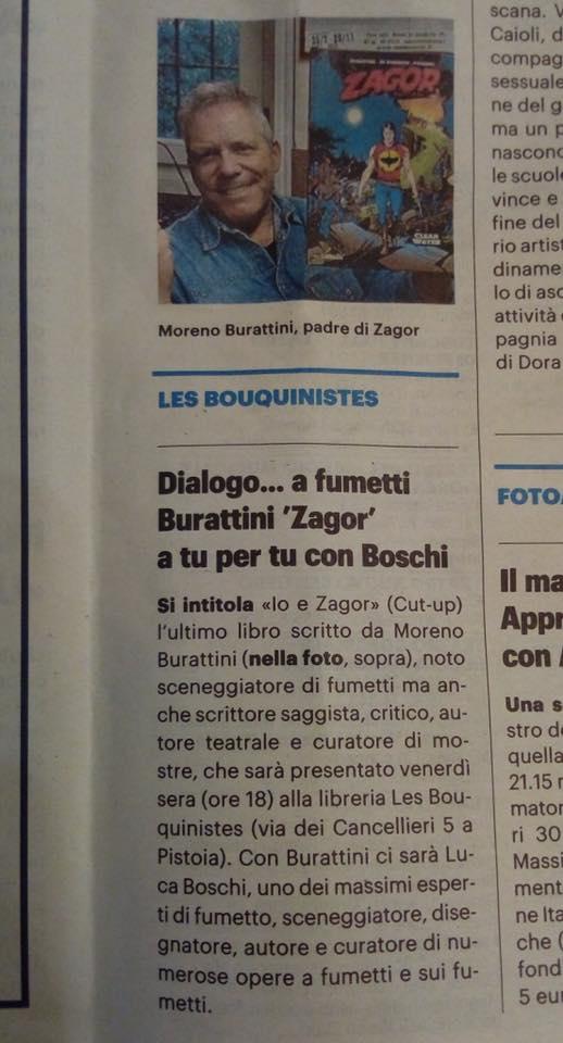 Articoli su quotidiani e riviste riguardanti Zagor  76955510