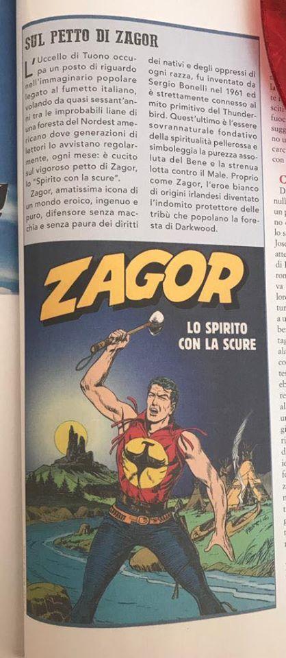 Articoli su quotidiani e riviste riguardanti Zagor  92960310