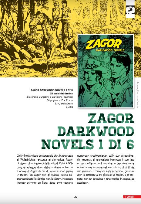 Zagor Darkwood Novels Dn11