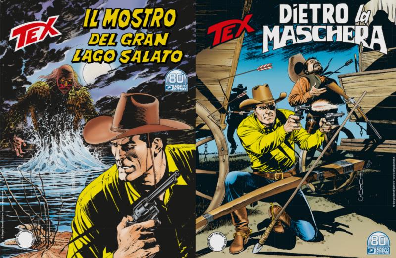 IL MOSTRO DEL GRAN LAGO SALATO (TEX 730-731) Fresh328