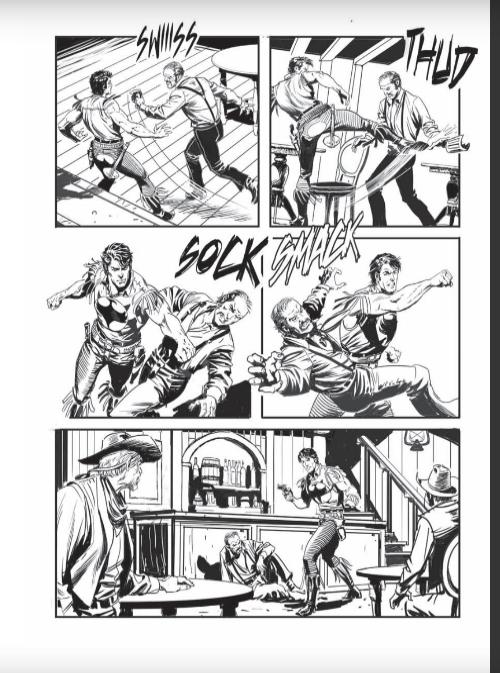 Anteprima tavole e storie in lavorazione (segue) - Pagina 4 Senza353