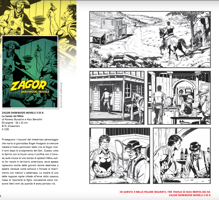 Anteprima tavole e storie in lavorazione (segue) - Pagina 4 Senza355