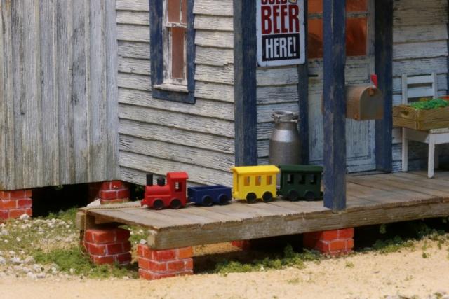 Un diorama US au 1/35 - Un garage et un hôtel quelque part en Oregon A_smal12