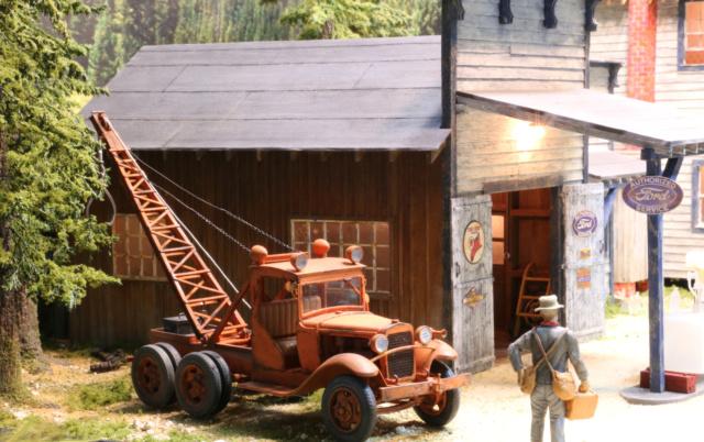 Un diorama US au 1/35 - Un garage et un hôtel quelque part en Oregon - Page 2 Img_4611