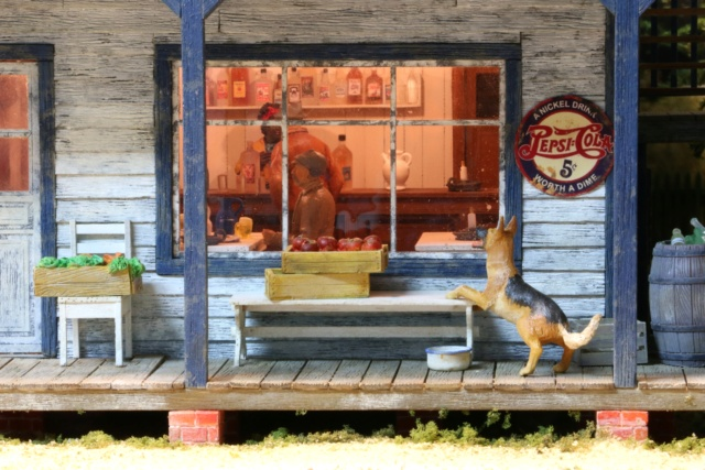 Un diorama US au 1/35 - Un garage et un hôtel quelque part en Oregon Inside11