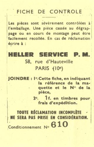 SUD AVIATION SA 315 B LAMA 1/100ème Réf CADET 046 Notice Fiche_11