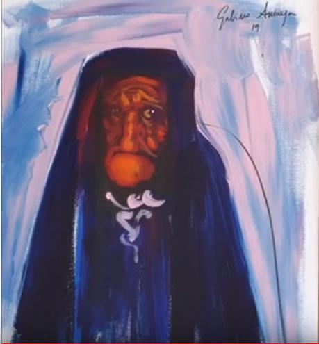 El Puntillismo Abstracto de Gabino Amaya Cacho Grotes11