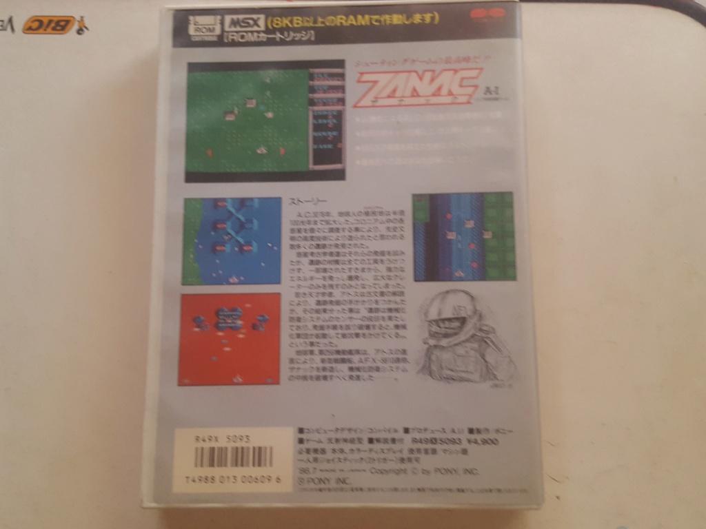 Estimation Jeux MSX 1 Z211