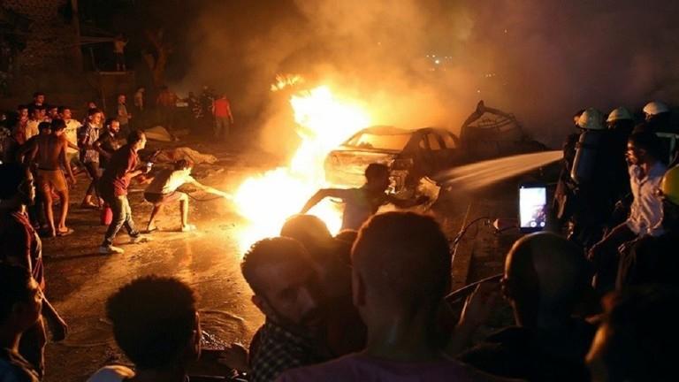 الداخلية المصرية تتهم الاخوان بانفجار معهد الاورام 5d483310
