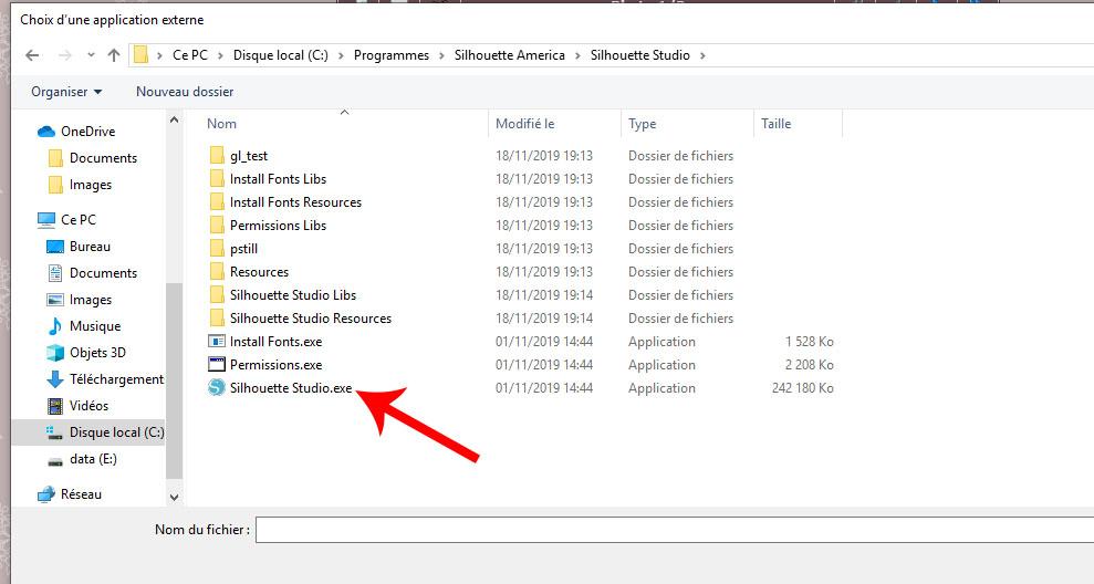 problème récupération de fichier dans la galerie Captur18